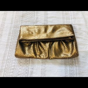 Style &Co clutch gold